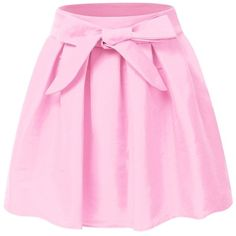 JJ Perfection Women's Solid Natural Pleated High Waisted Flare Mini... ($33) ❤ liked on Polyvore featuring skirts, mini skirts, pink high waisted skirt, high waisted mini skirt, mini skirt, high waisted short skirts and pink pleated skirt