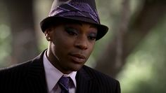 Nelsan Ellis as Lafayette Reynolds in True Blood. He rocked this fedora! So sexy.