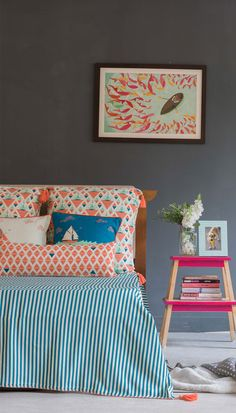 Shop Bed Covers & Bed Sheets Online for your Home - Chumbak Interior Decorating, Interior Design, Decorating Ideas, Interior Ideas, Indian Home Interior, Buy Bed, Bedding Shop, Room Organization, Bed Covers