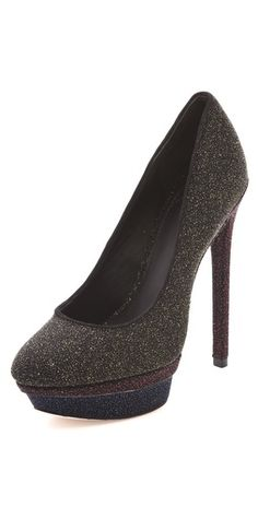 B Brian Atwood Fontanne Sugar Suede Pumps - LOVE THESE!!!