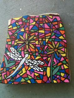 Mosaic dragonfly SNS DESIGNS