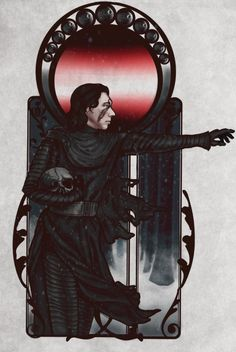 portrait of a fiend