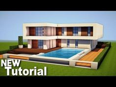Minecraft: How To Build A Modern House - Best Mansion 2016 Tutorial [ How To Make ] - Minecraft Servers Web - MSW - Channel