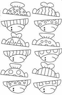 Fish Activities, Learning Activities, Preschool Activities, Kids Learning, Childhood Education, Kids Education, Fish Crafts, Design Blog, Busy Book