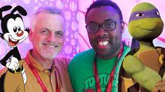 "ROB PAULSEN Talks Ninja Turtles, ""Apritello"" & Animaniacs : Black Nerd interviews Rob Paulsen about voice acting two Ninja Turtles and more!"