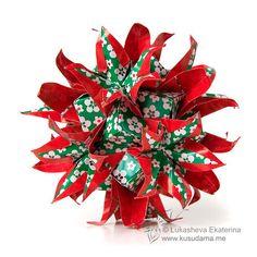 #polyhedra #origami #kusudama #lukasheva_ekaterina #neo_sonobe_imperialis