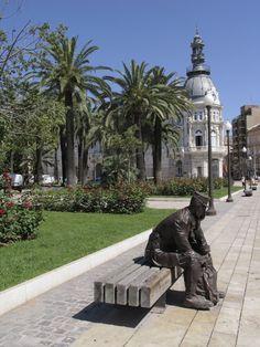 Plaza de Héroes de Cavite y Ayuntamiento de Cartagena