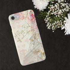 Romantic iPhone Case Paris iPhone Case Eiffel by ChezLorraines