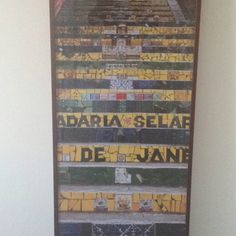 Lapa trappene i Rio
