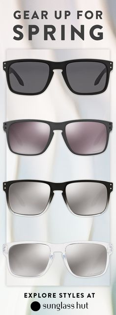 99de62052ba7 A new pair of Oakley sunglasses will be the perfect spring companion.  Whether you are