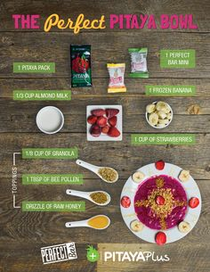 The Perfect Pitaya Bowl Recipe