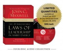The 21 Irrefutable Laws of Leadership in Ambit Energy - The John Maxwell Store