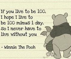 You can call me immature all you want, but I love Winnie The Pooh
