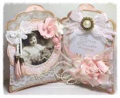 Marjan's scrapkaarten: We Love Vintage Challenge nr. Doilies Crafts, Lace Doilies, Vintage Gifts, Vintage Cards, Baby Barn, Winter Fairy, Shabby Chic Cards, Marianne Design, Adult Crafts