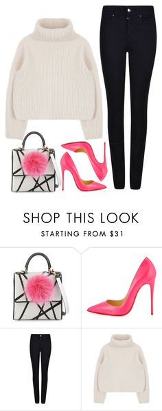 """""""street style"""" by ecem1 ❤ liked on Polyvore featuring Les Petits Joueurs, Christian Louboutin and Giorgio Armani"""