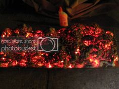 How to Create a Cheap and Easy Burning Coals Prop for Halloween – Halloween Ideas – Grandcrafter – DIY Christmas Ideas ♥ Homes Decoration Ideas Halloween Forum, Theme Halloween, Outdoor Halloween, Halloween Projects, Diy Halloween Decorations, Holidays Halloween, Spooky Halloween, Happy Halloween, Halloween Stuff