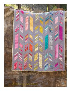 alisonglass — Feathers Quilt Pattern