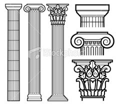 Don't want doric (top), would be good with ionic (middle), really want corinthian (bottom)
