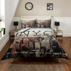 Cityscape Black And White Bedspread At Target Need This Bedding Pinterest Room Bedroom Essentials