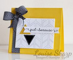 Stampin' Up! | Just Add Ink - Photo Inspiration | By Louise Sharp