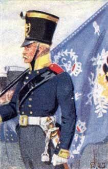 Flag bearer 2nd Batallion, 11th Infantry Regiment