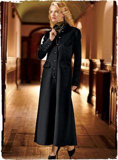 maxi dress and coat - Google Search