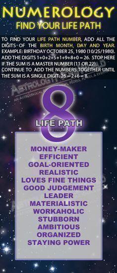Numerology Life Path 8 Mediummaria Birthdatenumerology