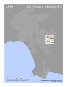 The City of LA Growth (GIF)