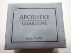 Burke Decor Spa Subscription Box Review October 2015 - soap Charcoal Bar Soap by Apotheke – Value $8