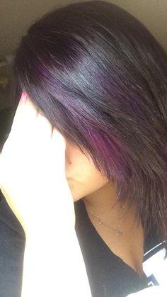 Purple peekaboo highlights photomy hair styles pictures peekaboo purple peekaboo highlights pmusecretfo Image collections