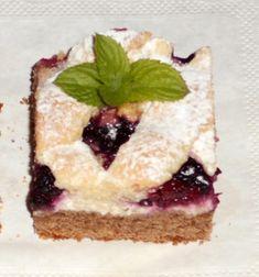 Tvarohový mriežkový koláč s černicami (fotorecept) - obrázok 7 Cheesecake, Desserts, Basket, Tailgate Desserts, Deserts, Cheesecakes, Postres, Dessert, Cherry Cheesecake Shooters