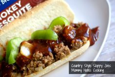 Country Style Sloppy Joes with Smokey Mesquite BBQ #KraftFreshTake