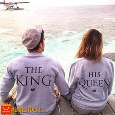 Are you the King or the Queen? Both of them available on our website!  #kingandqueen #kingshirt #queenshirt #truelove #kingandqueen #cutestcoupleever #puppyparents #mrandmrs #zakochani #madlove #shirtofthemonth #shirtofthemonth #aliexpress #alibestdeal #alibuying