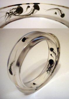 Ring Jellyfish #Gothic #Jewelry