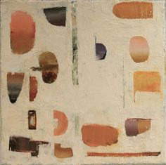 Patrick Bradley. Circus. oil on canvas.  20cms x 20cms