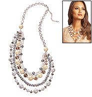 Pearlesque necklace by Avon that can be worn with day or night.     IT'S JUST SIMPLY BEAUTIFUL :) www.youravon.com/trinamurray