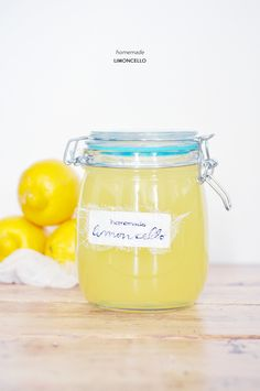 Homemade Limoncello  Read more - http://www.stylemepretty.com/living/2013/06/13/homemade-limoncello/