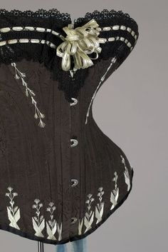 1880s - corset from Warsaw, Poland