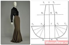 Maxi Skirt -- like Morticia in the Addams Family