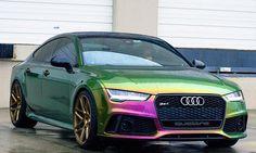 Audi Rs7 Chrome