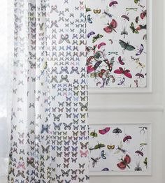 Mariposa Wallpaper by Christian Lacroix   Jane Clayton