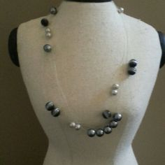 Shades Of Grey Necklace