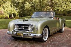 1953 Nash Healey Roadster..Re-pin Brought to you by agents at #HouseofInsurance in #EugeneOregon for #CarInsurance