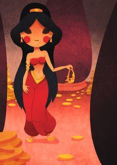 Jasmine - Aladdin re-imagined Disney Dream, Disney Love, Disney Magic, Disney And Dreamworks, Disney Pixar, Disney Characters, Disney Princesses, Film Disney, Disney Fan Art
