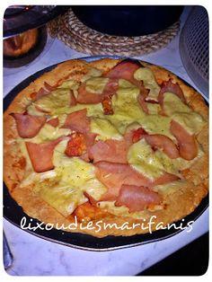 Οι λιχουδιές της Μαριφάνης: Ζύμη πίτσας με φάριν απ!!!