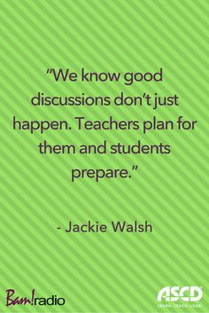 Five Steps to Stimulating Thoughtful Classroom Discussions. Learn them on this podcast.