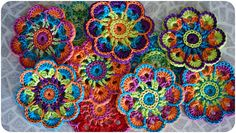 Ravelry: Eight Petalled Flower pattern by Nicole D.