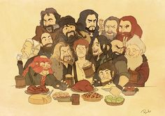 C'mon Bilbo, at least try to enjoy the party.