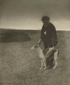 Peter Henry Emerson, Great Britain :  The Poacher  -  A Hare in View. 1888