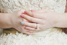 10 Insanely Creative Wedding Manicure Ideas to Accompany the Ring
